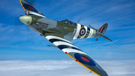 Two RAF Spitfires will take to the skies