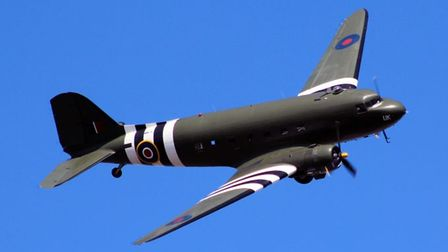 The crowds will get to see an RAFDakota flying over Sidmouth