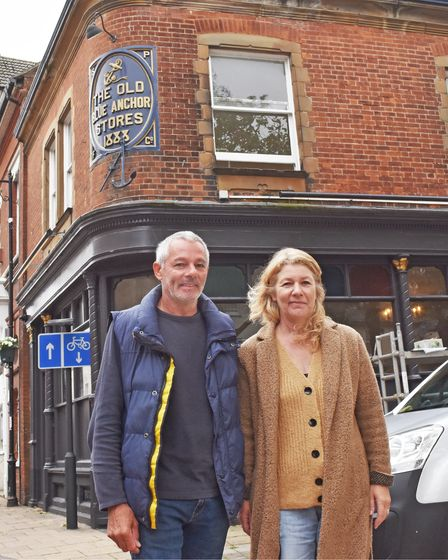 Mark Gee and his partner Joanne Croom have relocated to the historic High Street in Lowestoft.