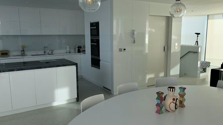 Kitchen home lift from Access Lifts in Dorset
