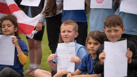 Children from class 2O at Castle Hill Primary School have wriiten letters to the England players who