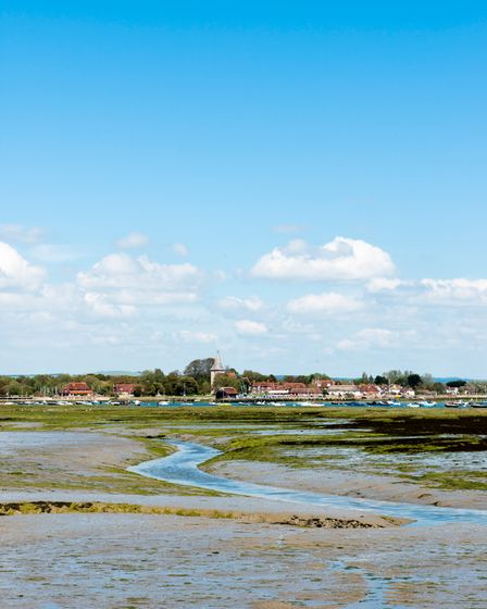 A view across the water to Bosham