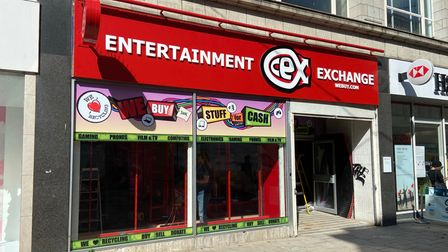 The new Cex store in Great Yarmouth.