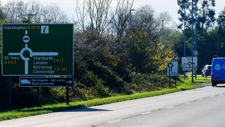 Huntingdon A141 survey show people support a bypass and want more options for bikes and less lorries.