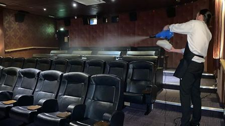 The Luxe Cinema in Wisbech has implemented Covid-19 safety measures since it reopened.