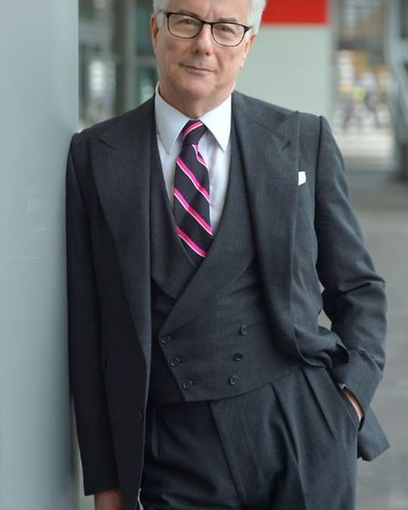 Bestselling author Ken Follett will be giving a talk about religious tolerance. Picture: Olivier Fav