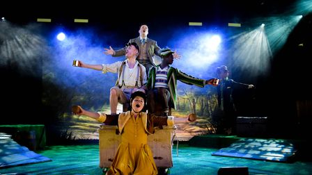 The Wind in the Willows at Norwich Theatre's Interlude.