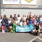 52 people turned out for @BambuuBrush and Blueharts Hockey Club's community litter pick in Hitchin on July 11