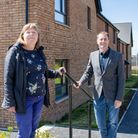 Baker Estates' Development Director, Graham Hutton and Aster Group's Project Manager, Alyson Haynes