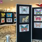 Some of the designs on show at the Landmark Theatre