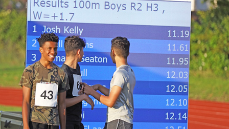 Young Brent athletes shine at Track Academy meet