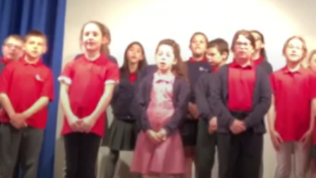 The music performance by pupils at Barton Hill Academy