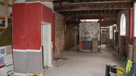 The ground floor of China Inn on Prince of Wales Road which is being turned into an Irish pub, Pogue