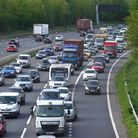 File photo dated 28/5/2021 of traffic on the M3 southbound heading towards the coast, at Winchester,