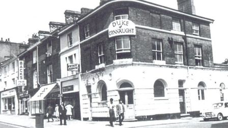 The Duke of Connaught pub. Pic: From the collection of Norwich pub historian Derek McDonald. - Credit: Derek McDonald