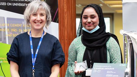 Tower Hamlets Campus Awards cropped