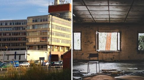 Left: cybercafe, Flickr, CC BY 2.0. Right: Unsplash