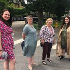 Fortismere School co-heads Zoe Judge and Jo Davey with Cllr Zena Brabazon and Cllr Peray Ahmet