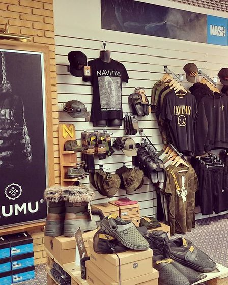 The shop will be selling a range of clothing items from brands such asKumu, Vass and Navitas