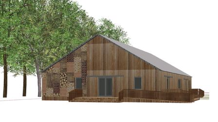 Long Ashton Scout Group's plans for a new HQ.