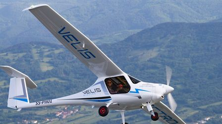 velis electric aircraft leased by Danish MoD