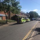 Police and ambulance are outside Lawson Road Surgery and Boots in north Norwich.