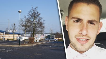 Kevin Young thinks he was wrongly charged at Anglia Retail Park, on the outskirts of Ipswich