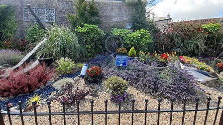 The Pride in Brixham group have done a superb job of landscaping along the breakwater.