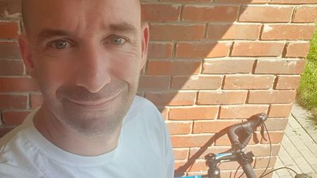 Jon Meddows, is cycling 175 miles today (Friday 16) along the Guided Busway to raise money for the Mafan Trust.