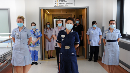 Hospitals in the county will continue the mandatory rule that face coverings must be worn