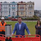MP Kevin Foster visited Openreach engineers working in Paignton