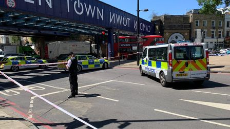 The incident happened in Camden this morning