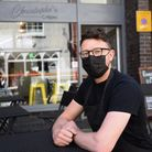 Chris Smith of Christoph's Crepes in the Norwich Lanes. Picture: DENISE BRADLEY
