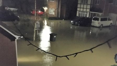 RebeccaAustin, from Elsworth Close,was flooded out of her home by raw sewage on Christmas Eve.