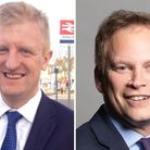 MP for Hertsmere Oliver Dowden and MP for Welwyn Hatfield Grant Shapps