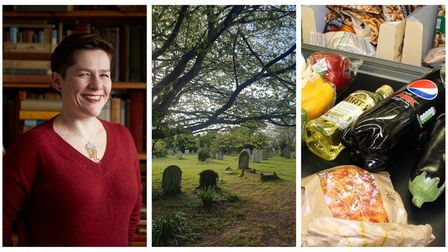 Dr Annie Gray, Mill RoadCemetery and What does the UK eat?