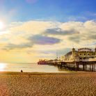 Brighton beach is one of the beaches near surrey, reach it in under 2 hours drive