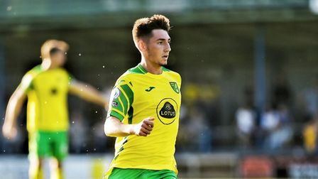 Billy Gilmour made his Norwich City debut in a 3-1 win at King's Lynn Town