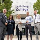 South Devon High School is the first school in Torbay to reach 100 per cent across all eight Gatsby Benchmarks