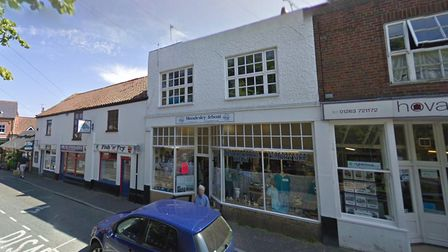 The Mundesley Lifeboat charity shop was forced to close due to a fire next door.