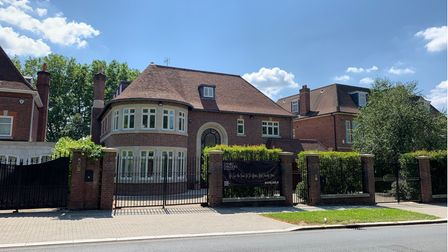 The Bishop's Avenue mansion going for £10 million on Daniel Daggers Real Estates