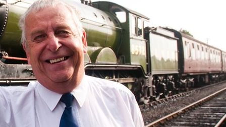 Neil Sharpe, chairman of the Midland and Great Northern Joint Railway Society.