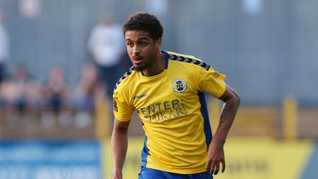 Liam Sole of St Albans City FC