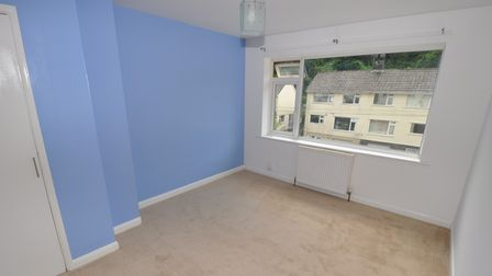 The property offers three bedrooms