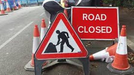 Brampton Road in Huntingdon will be closed for one day.