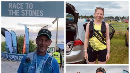 Clevedon AC members took on the Race to the Stones event