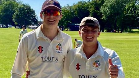Openers Sam Williams and Ben Jones put on 139 for Cleeve against Portishead