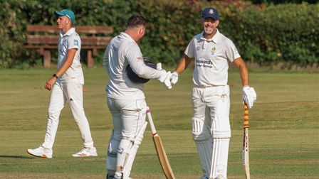 Action from Clevedon seconds clash at Claverham