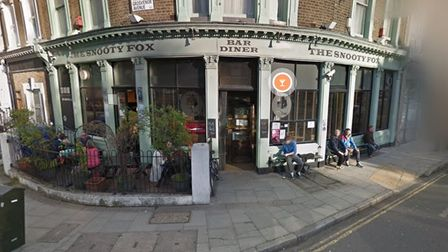 The Snooty Fox is popular with Canonbury drinkers
