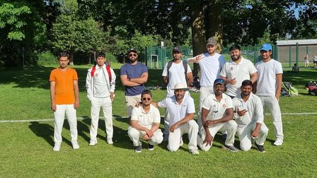 Newham fourths face the camera
